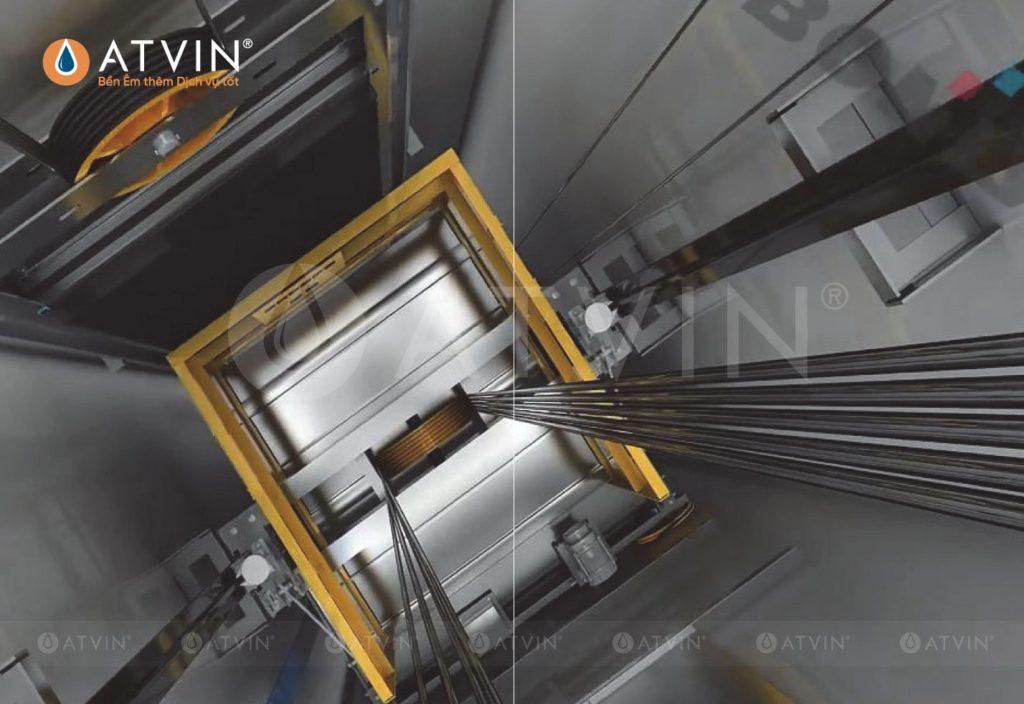 Hệ thống treo cân bằng của thang máy được cấu thành bởi rất nhiều yếu tố, ảnh hưởng trực tiếp tới chất lượng sử dụng thang máy