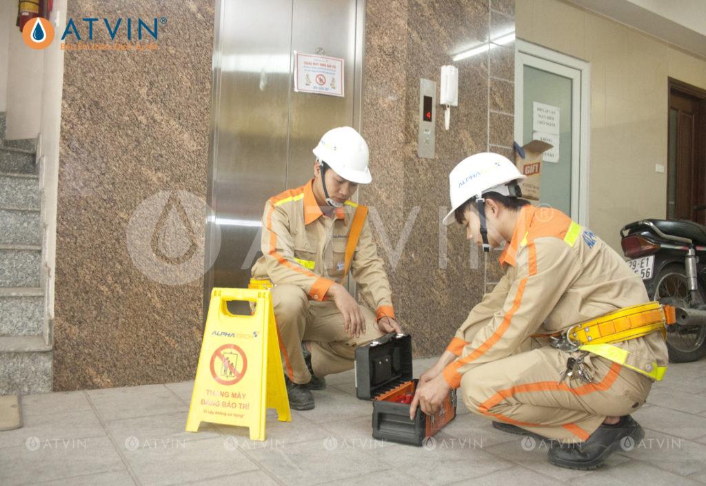 Dịch vụ bảo trì thang máy tại Atvin