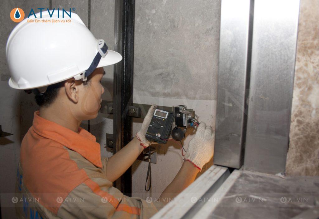 Kiểm tra, đo các thông số kỹ thuật trước khi vận hành thang máy