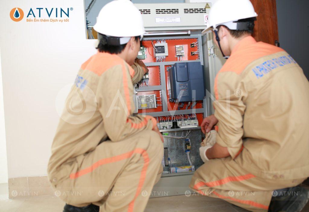 Cài đặt, thiết lập các thông số cho tủ điện điều khiển