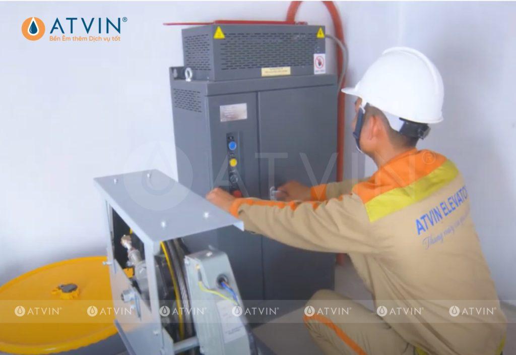 Thang máy gia đình sử dụng nguồn điện 3 pha tạo nên sự ổn định cho hoạt động của thang máy