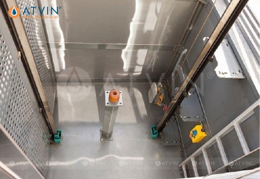 Phương án chống thấm hố Pit thang máy