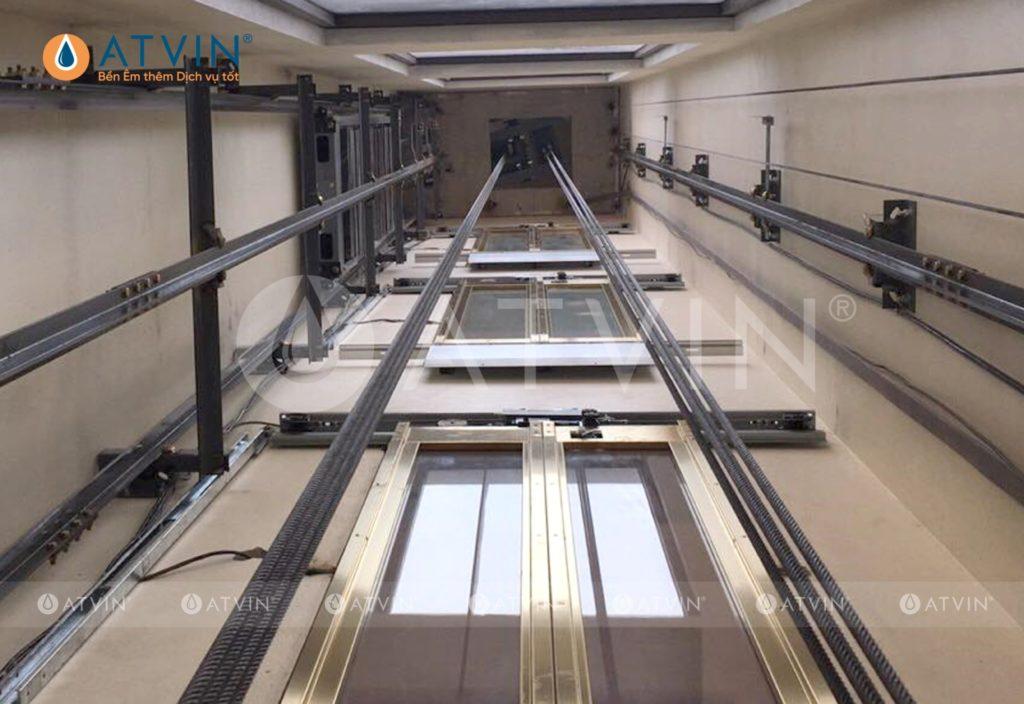 Thiết kế và xây dựng hố thang máy gia đình theo kích thước tiêu chuẩn