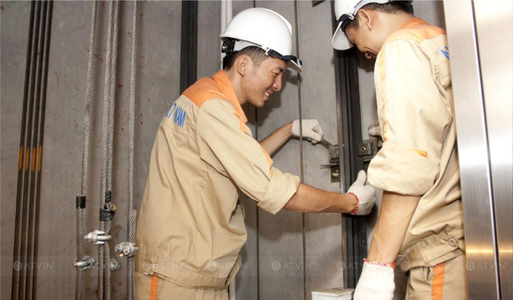 Hệ thống rail dẫn hướng ảnh hưởng tới sự êm ái trong quá trình thang máy hoạt động