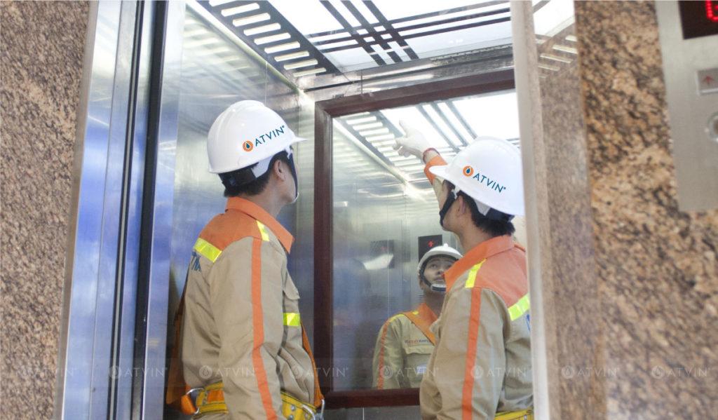 Kiểm tra quá trình hoạt động, vận hành của thang máy